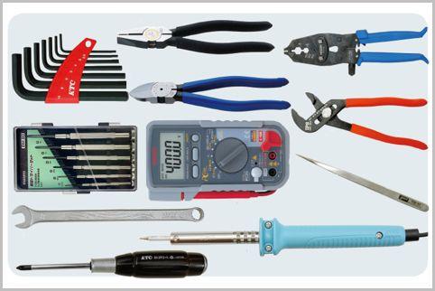 家電のセルフ修理用必携工具12アイテムとは?