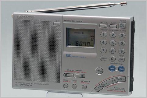 BCLラジオはACアダプタでなく乾電池を使う理由