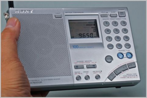 海外短波放送を聞くBCLラジオ選びポイント3つ