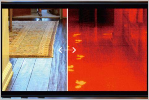 スマホが赤外線サーマルカメラに変身するツール