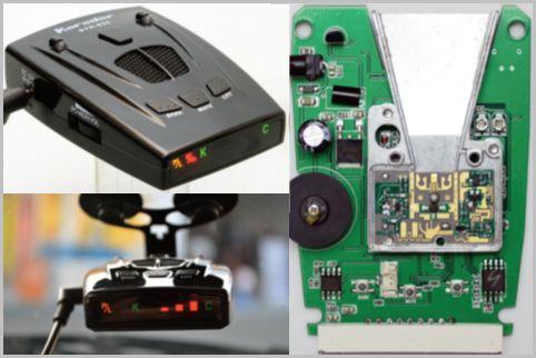 レーザー式取締り対応レーダー探知機の中身は?