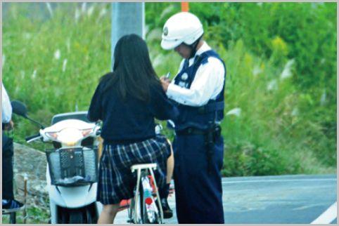 職質で警察官が自転車の防犯登録を確認する理由