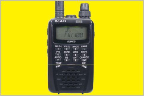 盗聴発見機と防災ラジオを兼ねるハンディ受信機