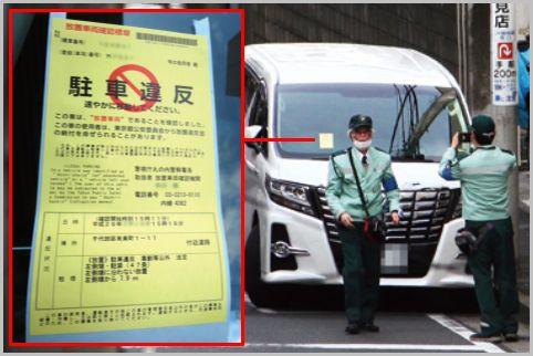監視員による駐車違反が確定するタイミングは?