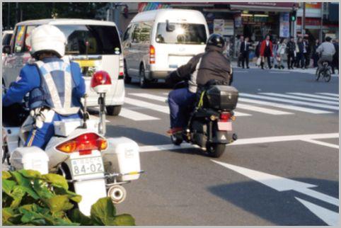 月末にノルマ達成で取締られる交通違反ベスト3