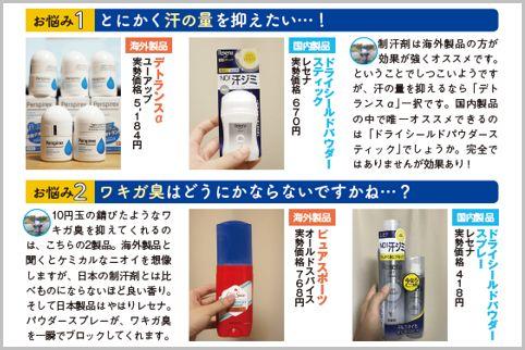 汗の悩みを解消する症状別おすすめの制汗剤8選