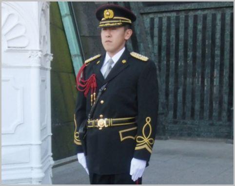 皇宮警察はパトカーや白バイも配備する独立組織