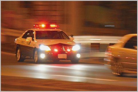 高速隊のパトカーの事故は新人教育中に多かった