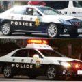 覆面と白黒で違う危険度が高いパトカーの判別法
