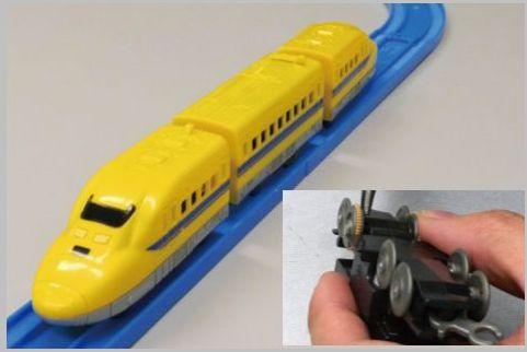 100均のプラレール風プチ電車を本格仕様に改造