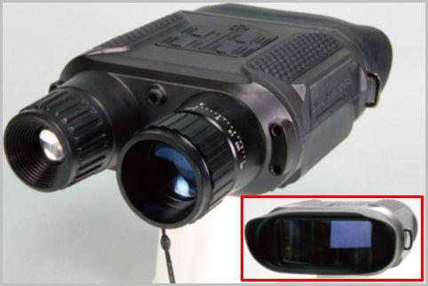 赤外線も照射できる暗視スコープの撮影性能は?