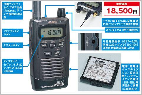 盗聴器の発見機能付きカードサイズ受信機の魅力