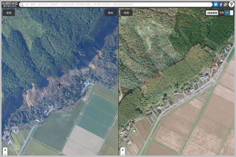 国土地理院の災害マップで詳細な被害状況を把握