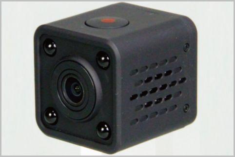 赤外線オン/オフも遠隔操作できる超小型カメラ
