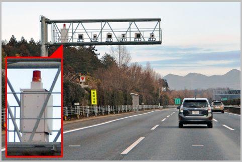 オービスと路上の監視カメラを見分けるポイント