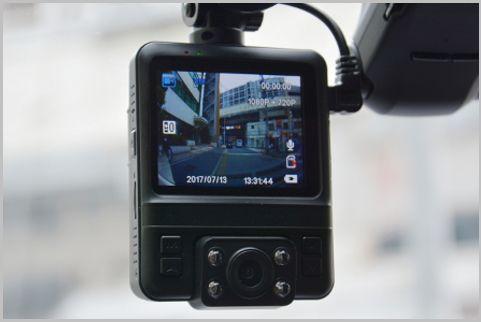 価格の割にお買い得なドラレコは車内も撮影する