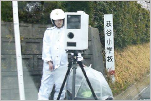レーザー式オービスの測定ポイントは何m手前?