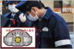 警察官の階級章の上に書かれている個人番号とは