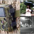 赤外線撮影も可能なコンパクトなトレイルカメラ