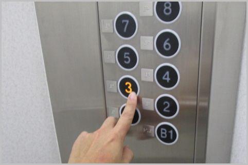 エレベーター行先階キャンセルはメーカーで違う