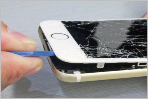 iPhoneのガラスとバッテリーを自力で交換する