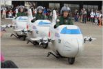 スクーター製のミニ哨戒機「P-3C」のデモとは