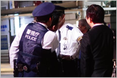 職務質問で警察官の態度が急変するNG行動とは