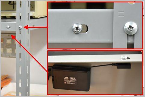ネジに擬装したスパイカメラは判別がほぼ不可能