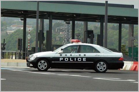 高速での追尾式スピード違反取締り危険地帯とは