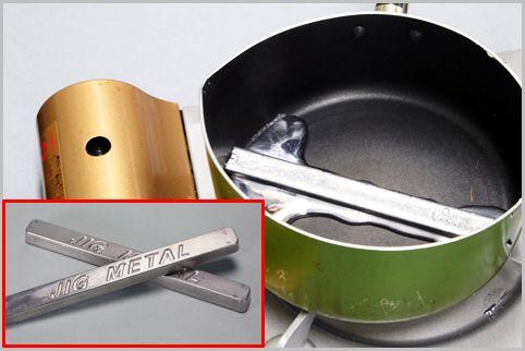低温で融ける不思議な金属「治具メタル」とは?