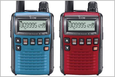 盗聴器も受信できる「IC-R6」単3電池2本で駆動