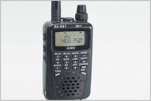 ワンセグ音声が聞けるDJ-X81は防災受信機に最適
