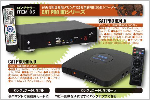 業務用HDMIレコーダーが根強く支持される理由