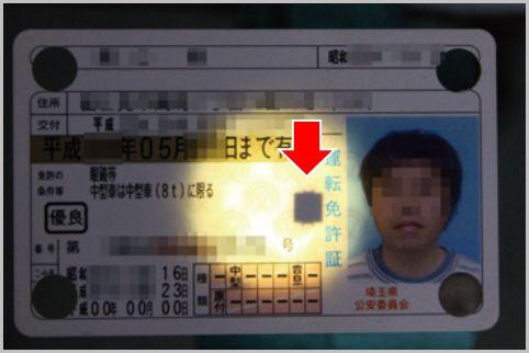 運転免許証のICチップから読み取れる情報とは