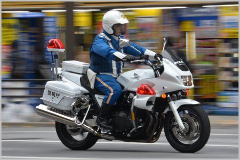 白バイのスピード取締りは制限速度が存在しない