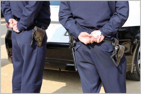 制服警察官が所持する拳銃には3種類ある