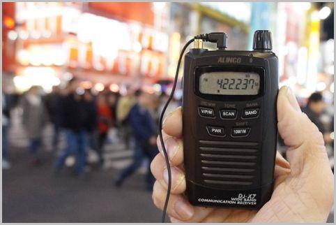 生産終了となったカードサイズ受信機DJ-X7の魅力