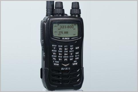 受信機DJ-X11Aに搭載された「AGC」の役割とは?