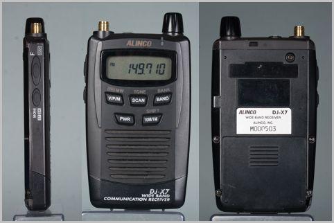 盗聴発見機能付きカードサイズ受信機が生産終了