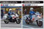 白バイ最新モデル「ホンダvs.ヤマハ」の価格差