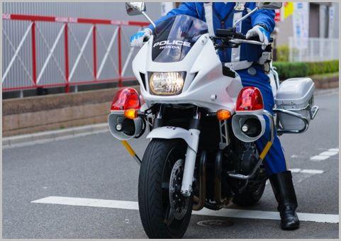 白バイならぬ「青バイ」何を取り締まるバイク?