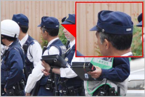警察官の階級を後ろ姿から判別するポイントは?