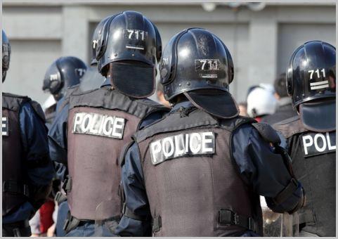警察の機動隊の階級を見分けるポイント3つとは