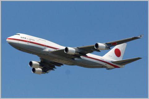 政府専用機の航空無線はVHF帯とUHF帯どっち?