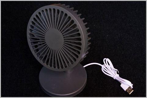 100均で見たら即買い「USB扇風機」で暑さ対策