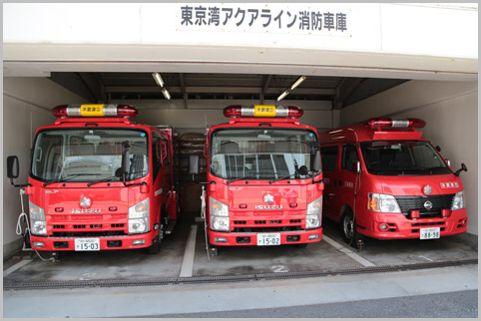 東京湾アクアライン「シャコタン消防車」とは?