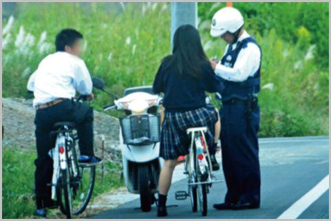 自転車の防犯登録を警察官が職質で確認する理由