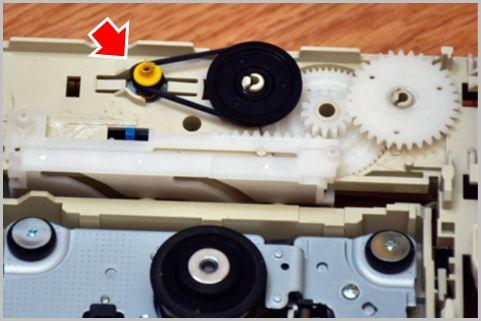 パソコンDVDドライブ排出不良を自力で修理する