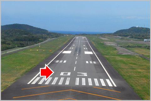 空港の滑走路に書かれた数字は何の意味がある?