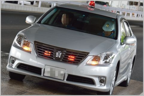 覆面パトカーの追尾式スピード取締りの回避方法